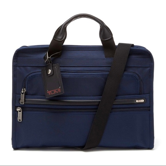 925b60175bdc New (NWT) TUMI Slim Deluxe Portfolio Bag NWT